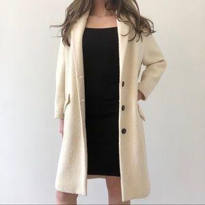 Zara Cream Coat